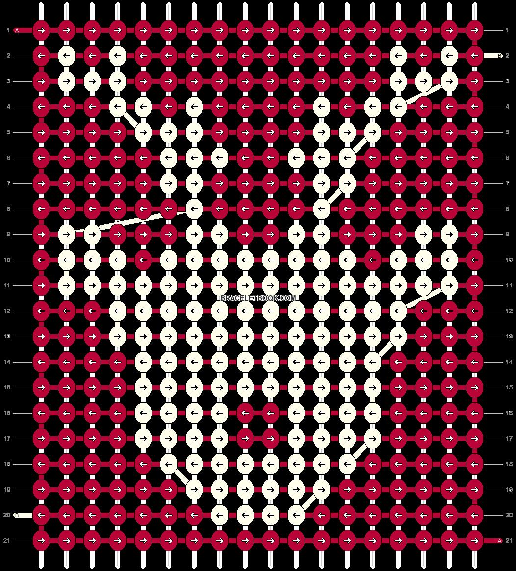 Alpha pattern #16983 pattern