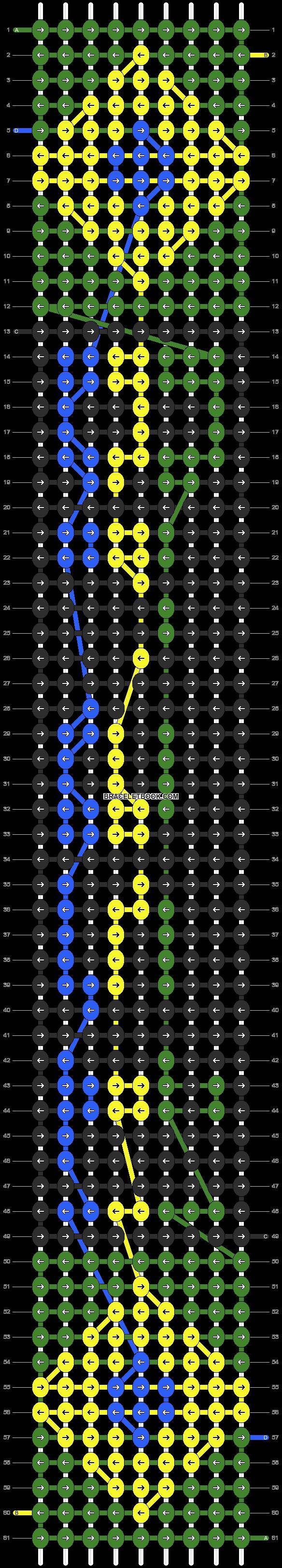 Alpha pattern #16984 pattern