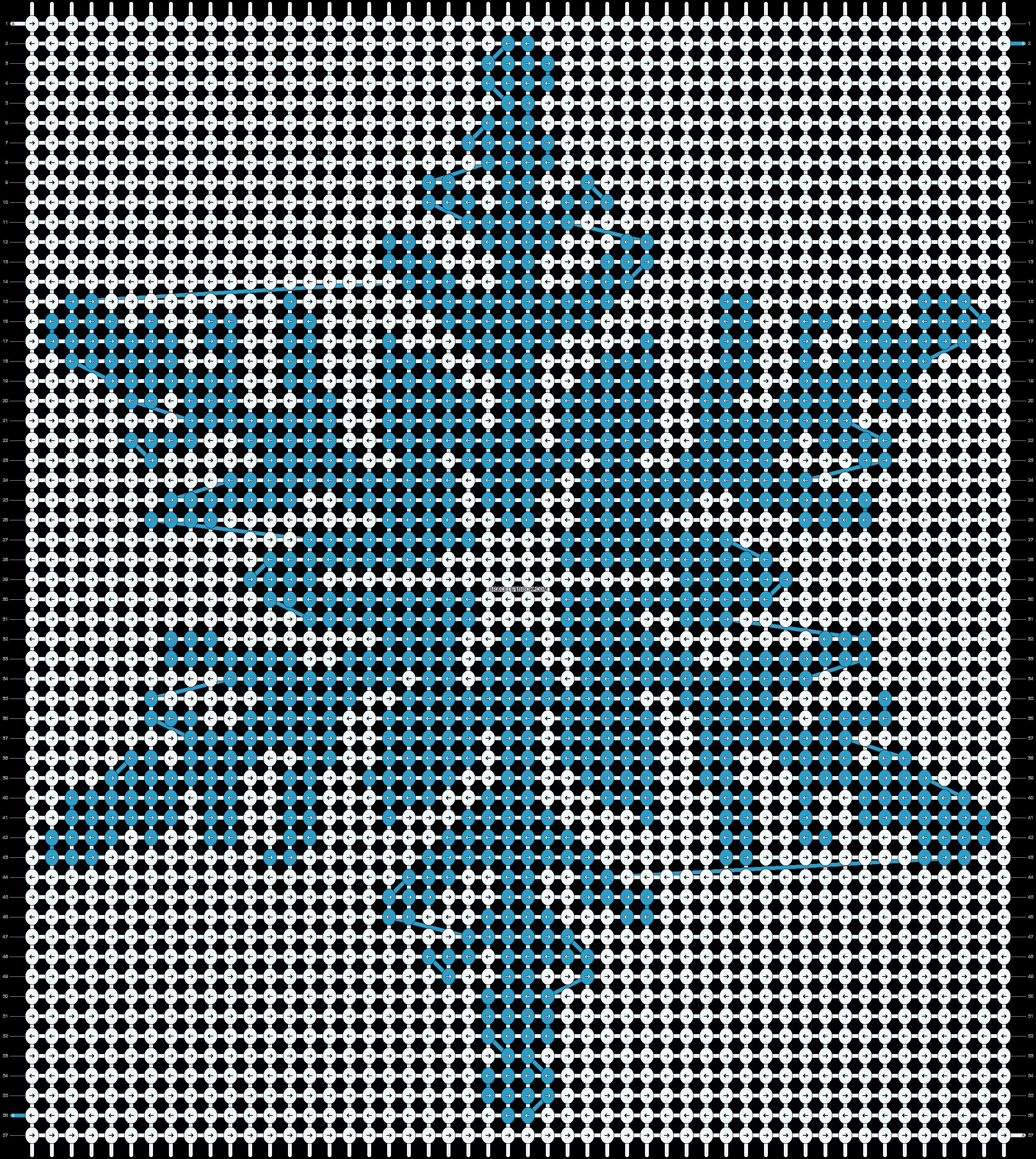 Alpha pattern #16985 pattern