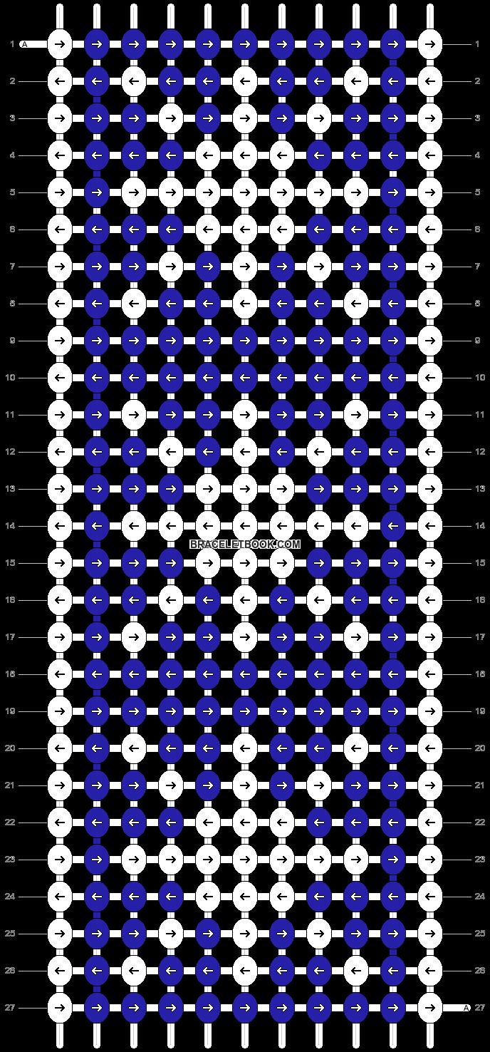 Alpha pattern #17009 pattern