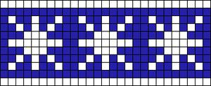 Alpha Friendship Bracelet Pattern #17009