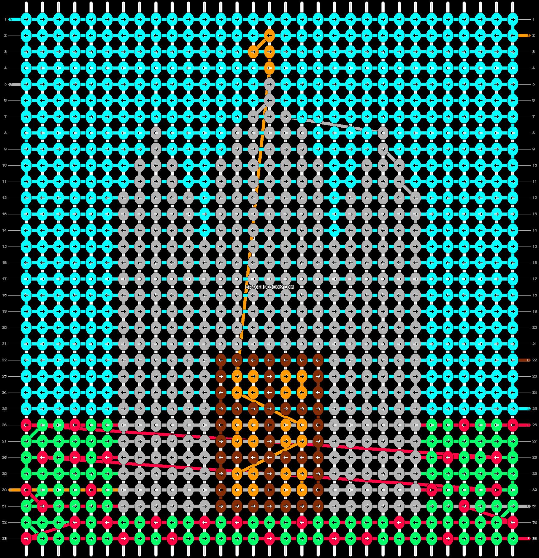 Alpha pattern #17019 pattern