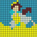 Alpha pattern #17023
