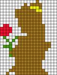 Alpha pattern #17024