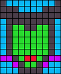 Alpha pattern #17025
