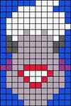 Alpha pattern #17026