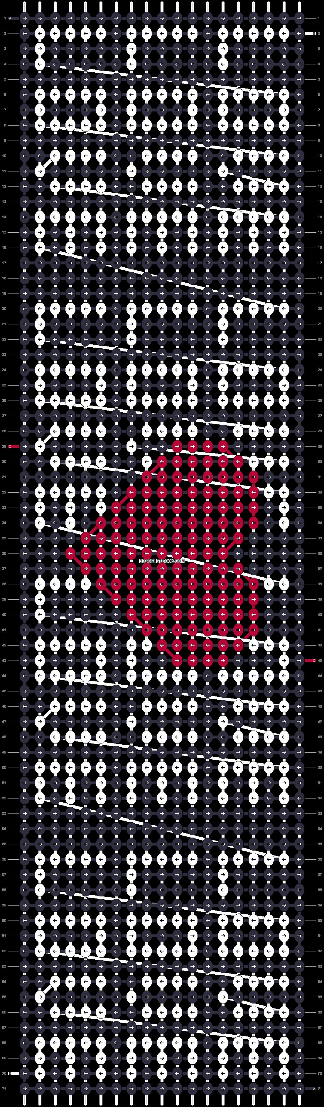 Alpha pattern #17027 pattern