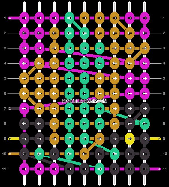 Alpha pattern #17034 pattern