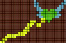 Alpha pattern #17036