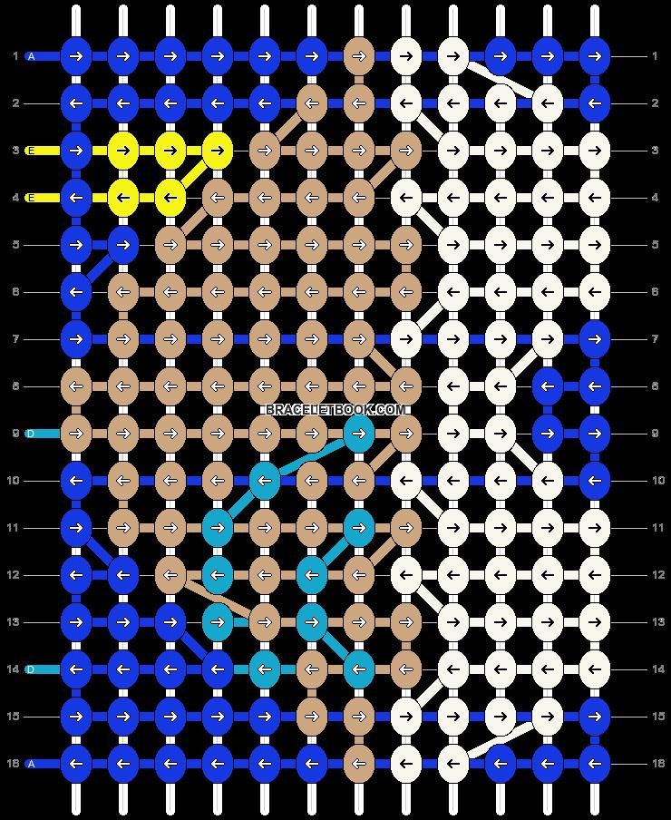 Alpha pattern #17037 pattern