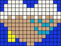 Alpha pattern #17037