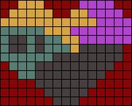 Alpha pattern #17038