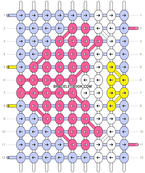 Alpha pattern #17041 pattern