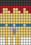 Alpha Friendship Bracelet Pattern #17047