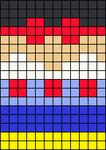 Alpha pattern #17048