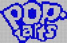 Alpha pattern #17050