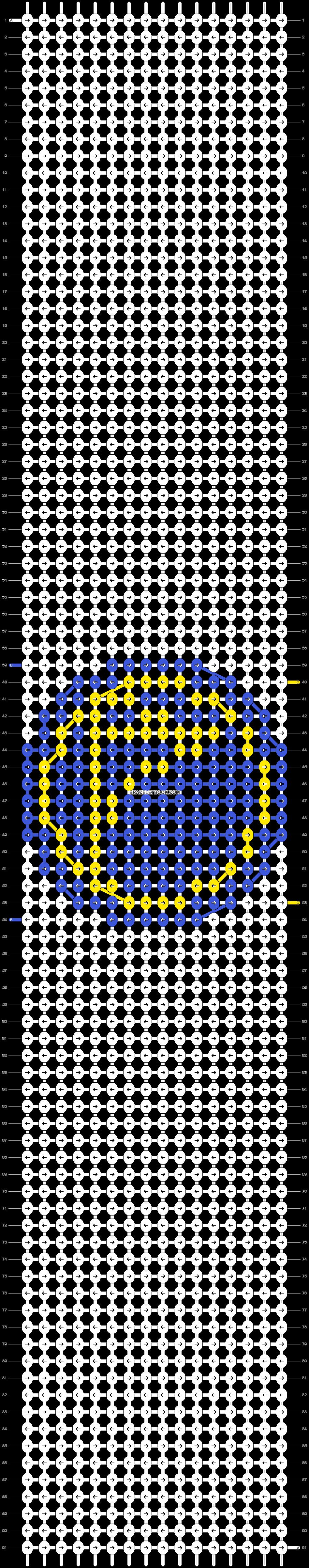 Alpha pattern #17053 pattern