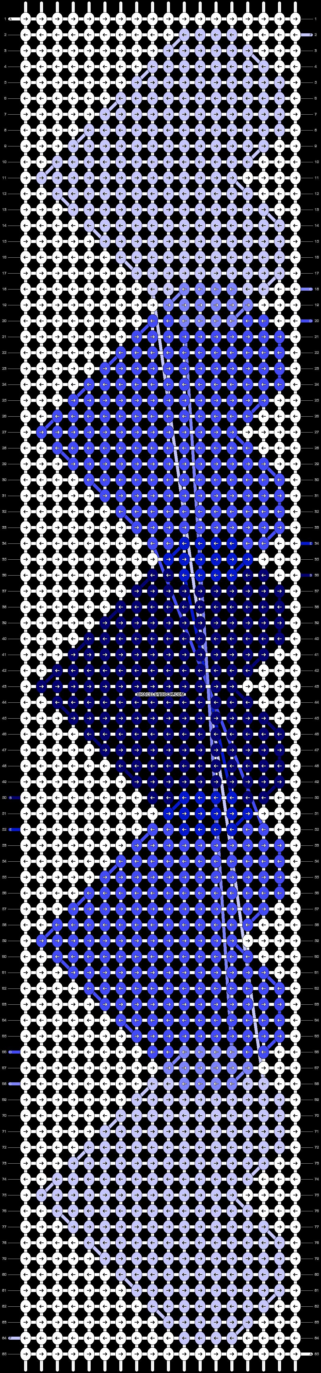 Alpha pattern #17055 pattern