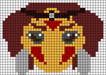 Alpha pattern #17060