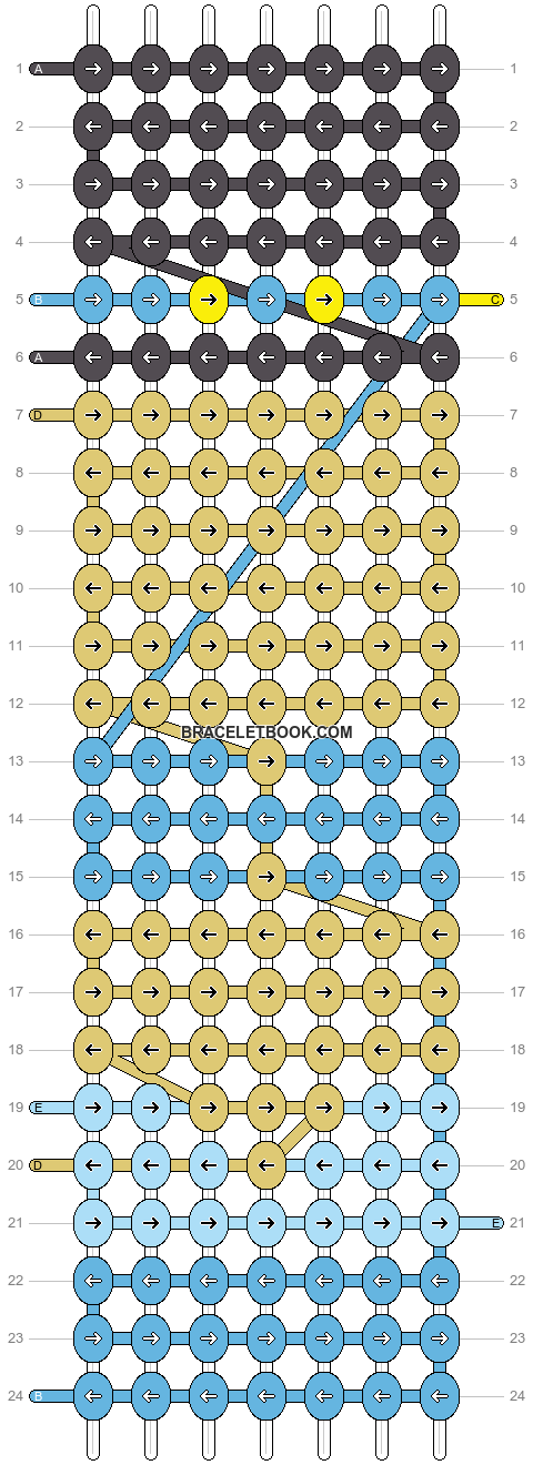 Alpha pattern #17063 pattern
