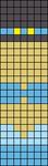 Alpha Friendship Bracelet Pattern #17063