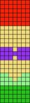 Alpha Friendship Bracelet Pattern #17064