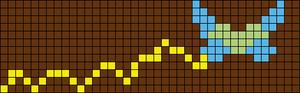 Alpha Friendship Bracelet Pattern #17066