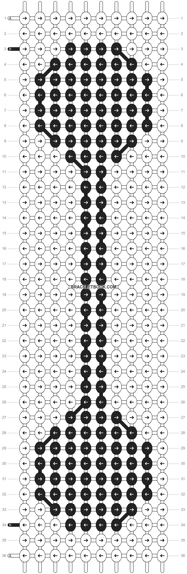 Alpha pattern #17067 pattern