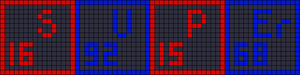 Alpha pattern #17071