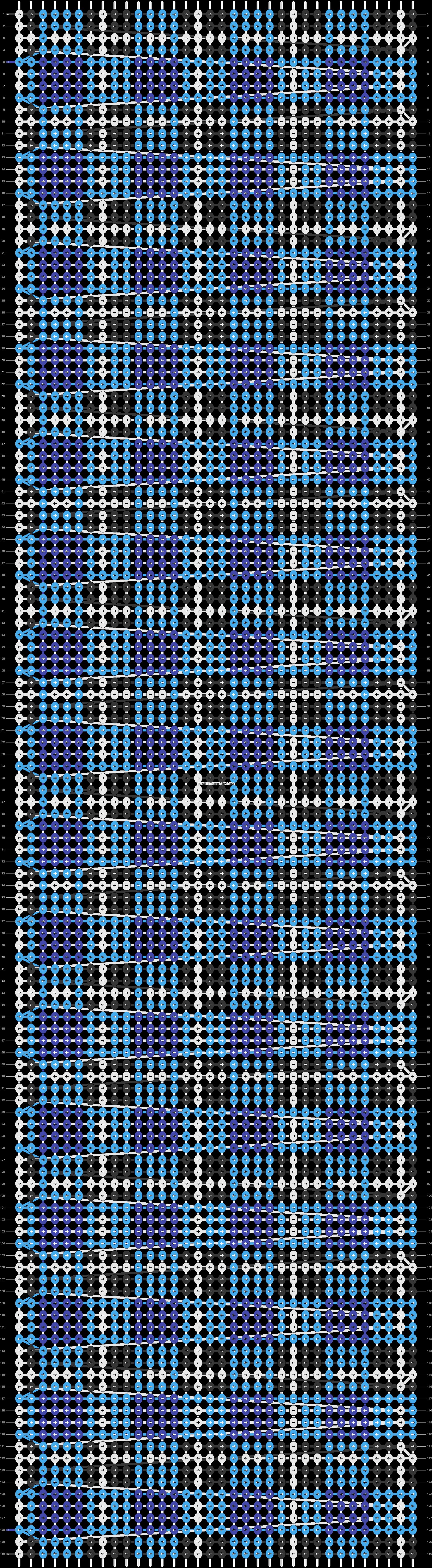 Alpha pattern #17075 pattern