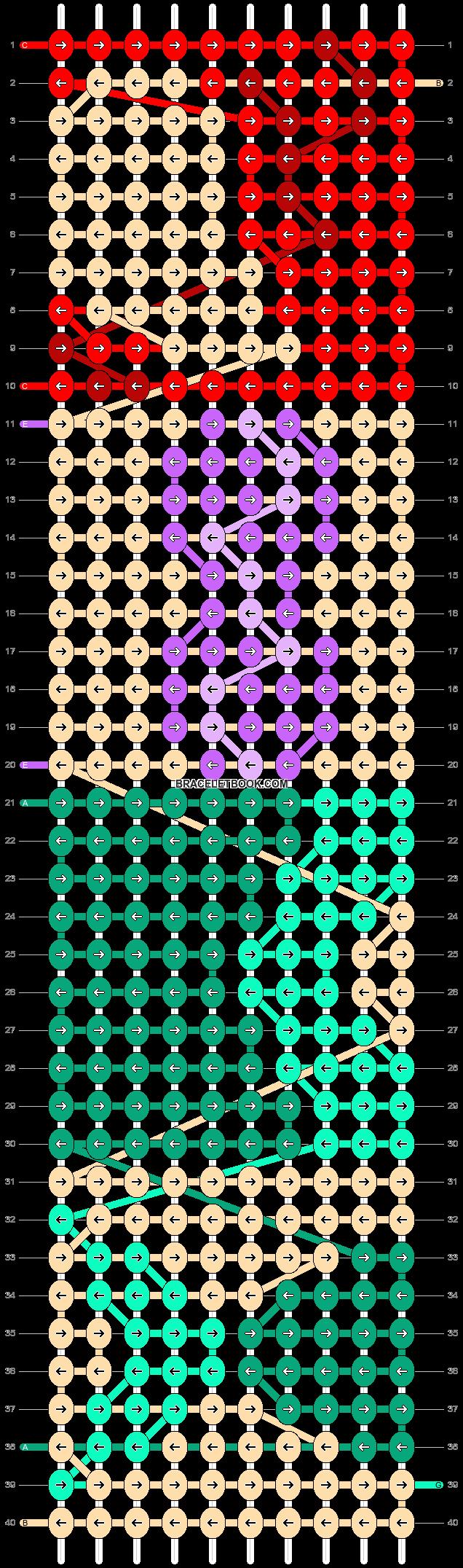 Alpha pattern #17078 pattern