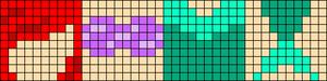 Alpha Friendship Bracelet Pattern #17078