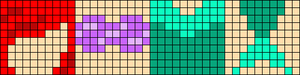 Alpha pattern #17078