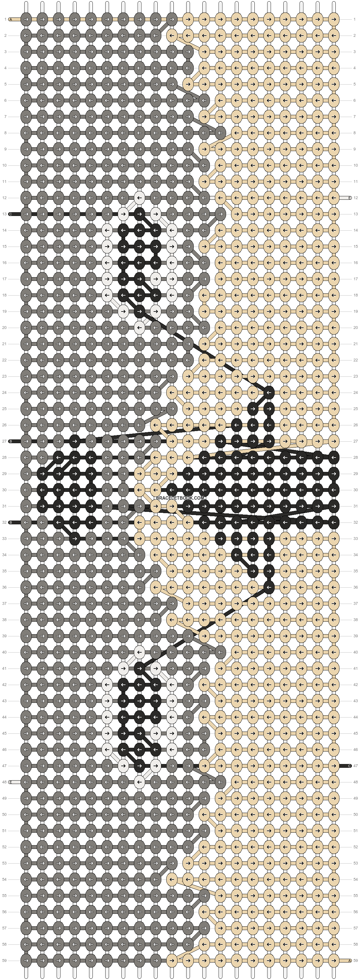 Alpha pattern #17080 pattern