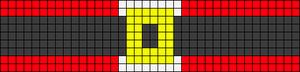 Alpha Friendship Bracelet Pattern #17082