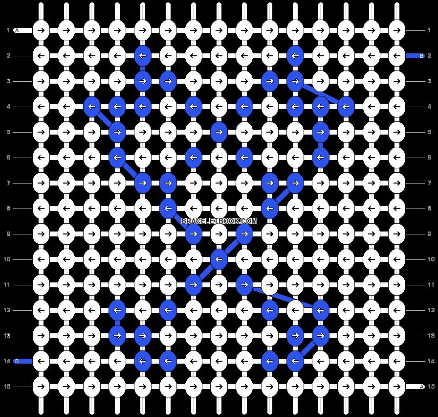 Alpha pattern #17083 pattern