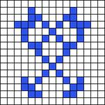 Alpha pattern #17083