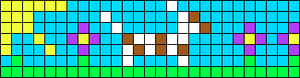 Alpha pattern #17086