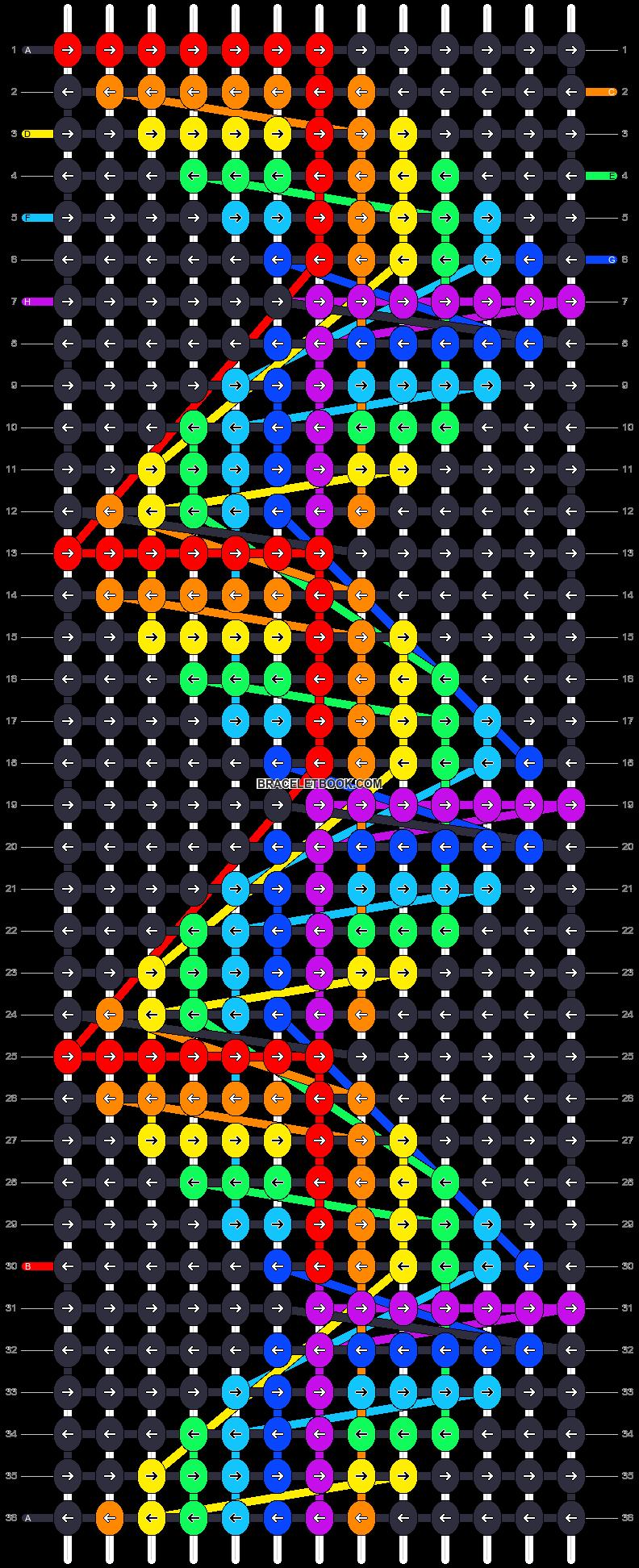 Alpha pattern #17097 pattern