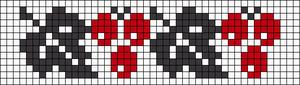 Alpha pattern #17105