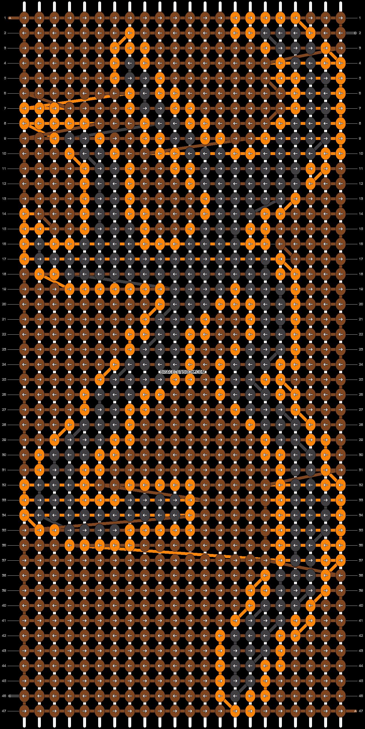 Alpha pattern #17111 pattern
