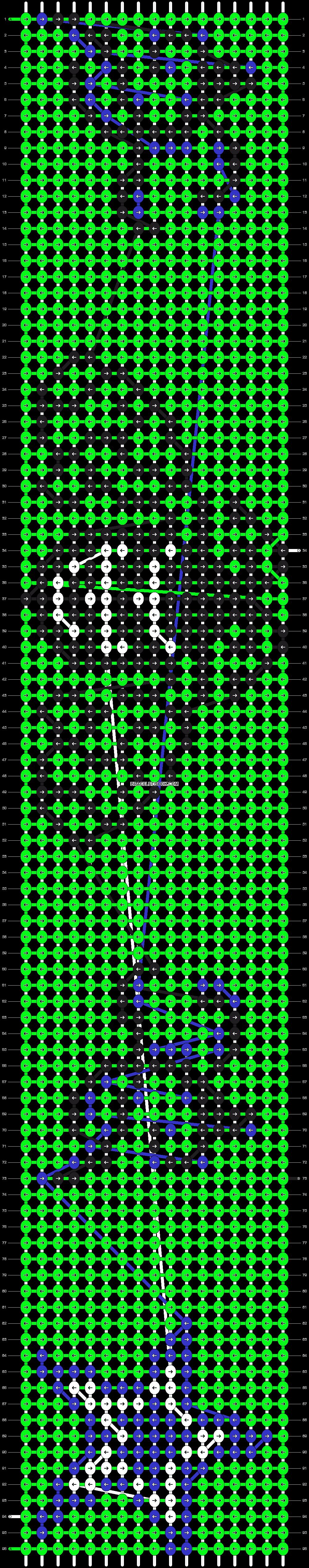 Alpha pattern #17119 pattern
