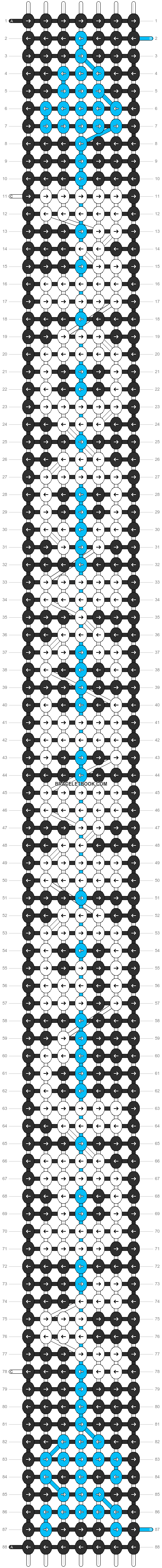 Alpha pattern #17134 pattern