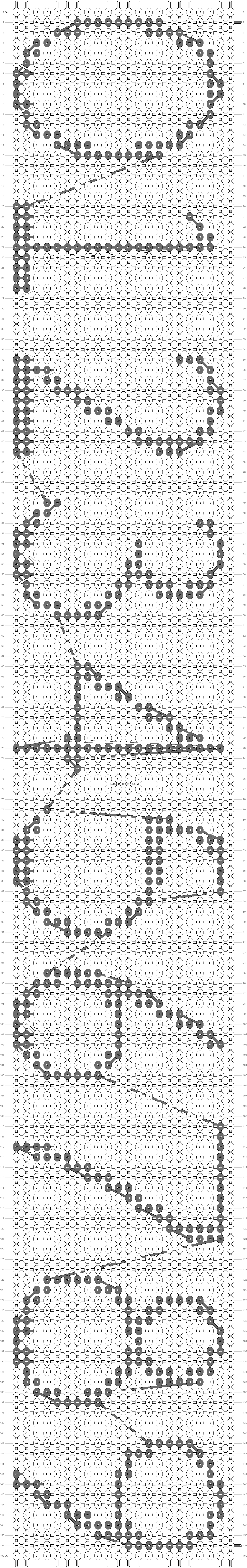 Alpha pattern #17138 pattern