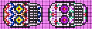 Alpha pattern #17140