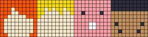 Alpha pattern #17148