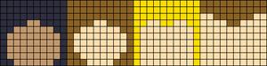 Alpha Friendship Bracelet Pattern #17150