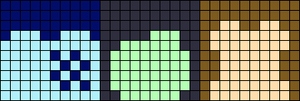 Alpha pattern #17151