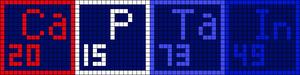 Alpha Friendship Bracelet Pattern #17158