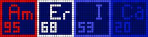 Alpha pattern #17159
